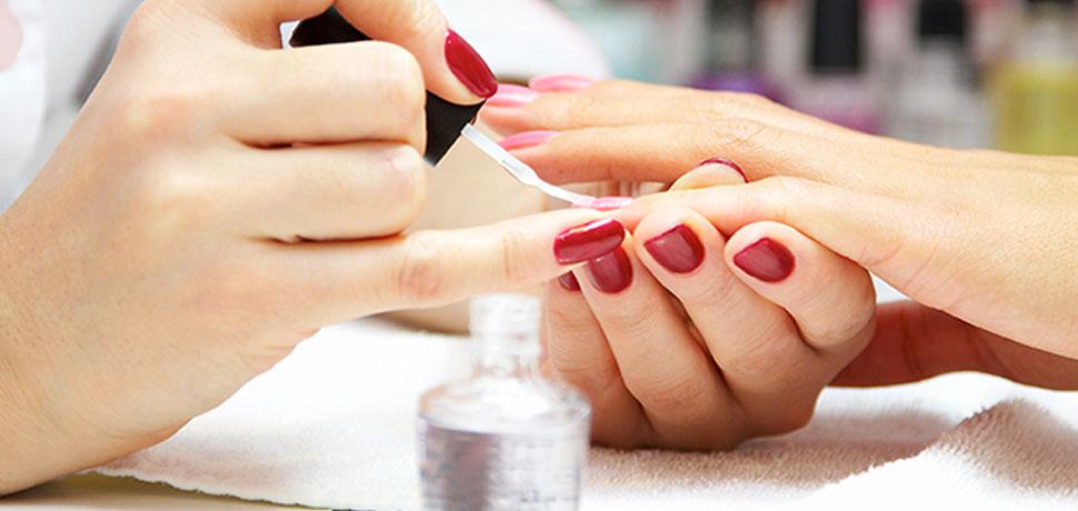 hand made nail art