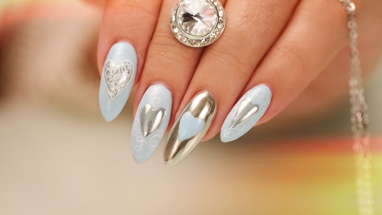 nail art chrome