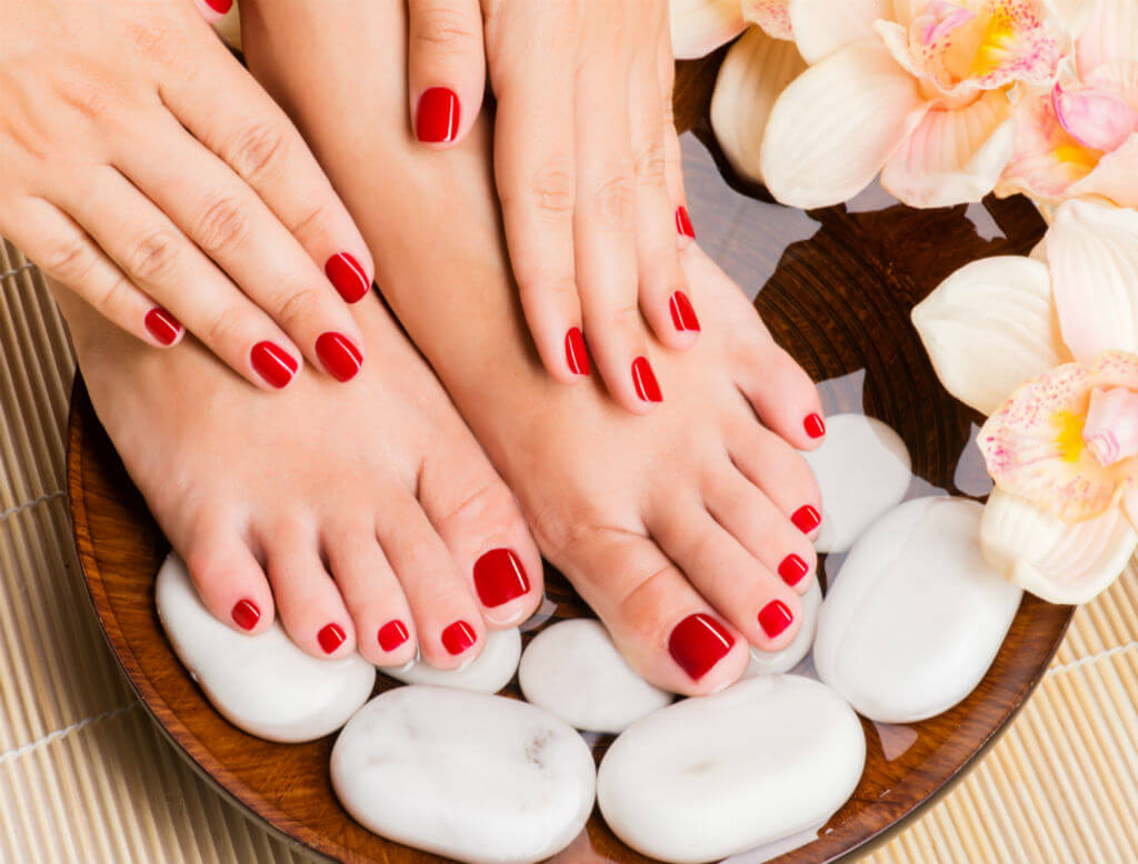 basic pedicure
