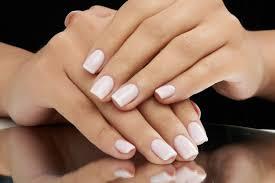basic mani with polisher